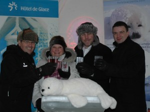 Sleep in an Ice Hotel Observe Harp Seals in the Magdalen Islands : A once-in-a-lifetime experience!