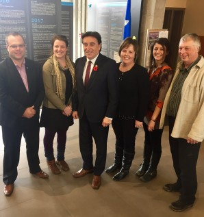 Announcement of Funding to the Réseau...