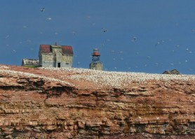 Rocher aux Oiseaux (Bird Rock) Lighthouse