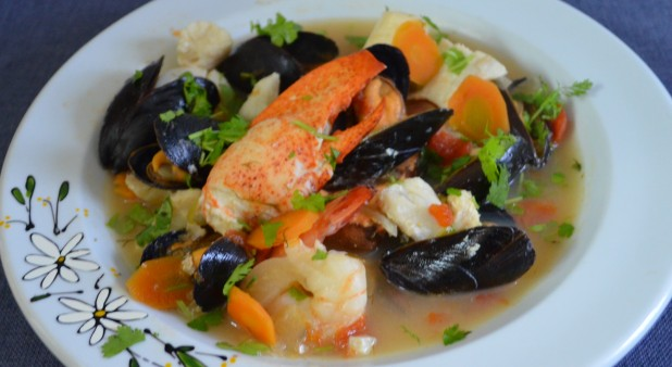 Sea food bouillabaise