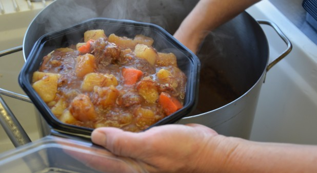 Magdalen Island speciality: salted meat stew