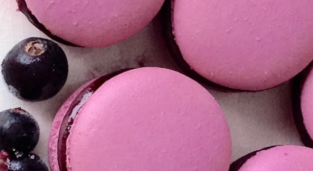 Cassis Macaroon
