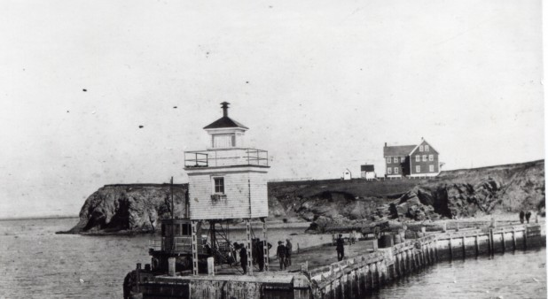 Old Havre-Amherst\' lighthouse