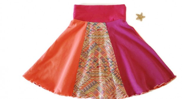 Vol-au-vent skirt - 3 sizes for kids