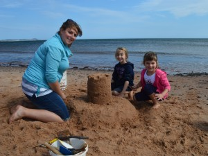 Sandcastles construction workshop