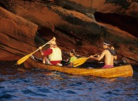 Canoe around the Îles de la Madeleine
