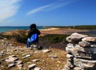 Randonnée sur l'Île Boudreau, Îles de la Madeleine
