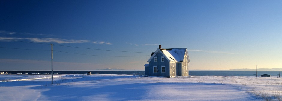 House during Winter, Îles de la Madeleine