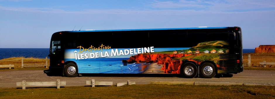 Autobus to the Îles de la Madeleine