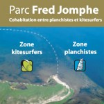 Cohabitation kitesurfers et planchistes