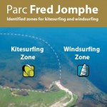 Kitesurfing and windsurfing zone