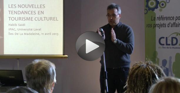 Conférence sur les nouvelles tendances en tourisme culturel