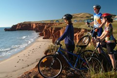 Cycling on Îles de la Madeleine