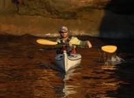 Kayak aux Îles de la Madeleine