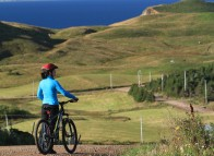 Cycling on the Îles de la Madeleine