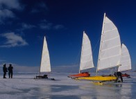 Ice boats - Îles de la Madeleine