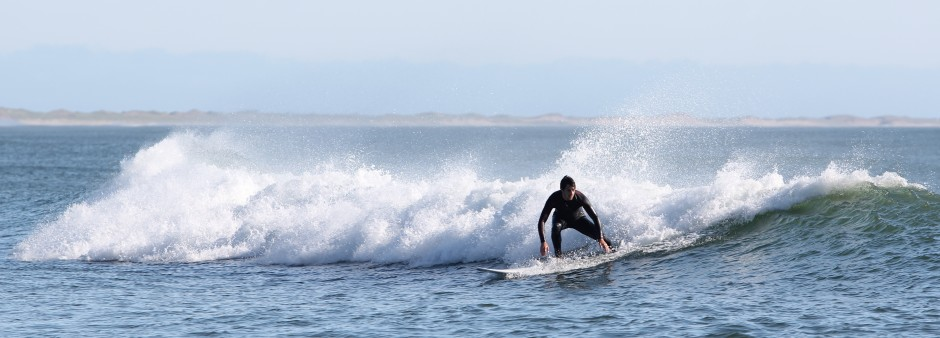 Surf aux Îles de la Madeleine