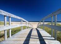 Passerelle sur la plage de la Grande-Échouerie