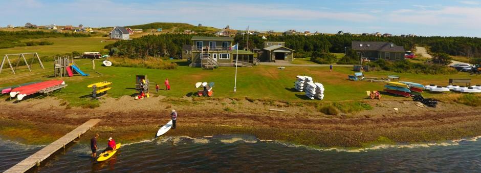 Îles de la Madeleine, plein air, kayak, planche, eau