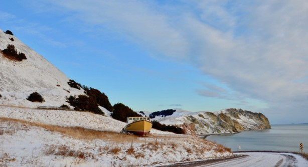 Winter on the Magdalen Islands