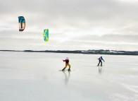 Ski cerf-volant