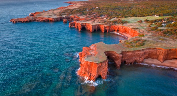 Stunning scenery - Magdalen Islands